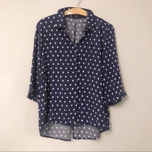 Max Jeans Button Down Blouse